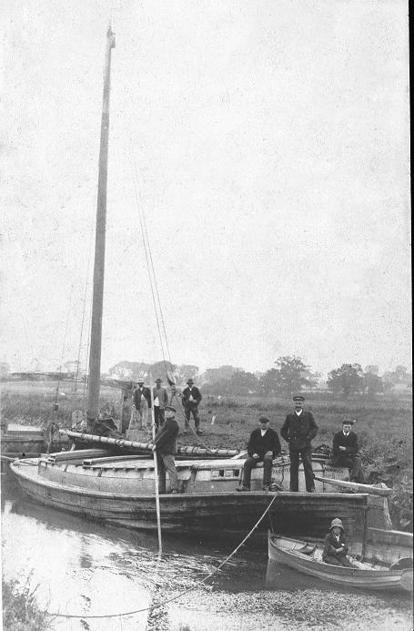Wherry at Bulcamp lock