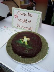guess the weight of the cowpat