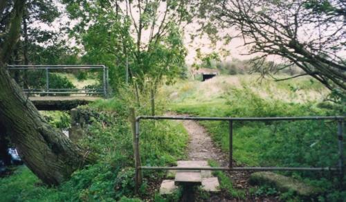 1.1999 Footpath 23 at White Bridge looking towards Chestnut meadow