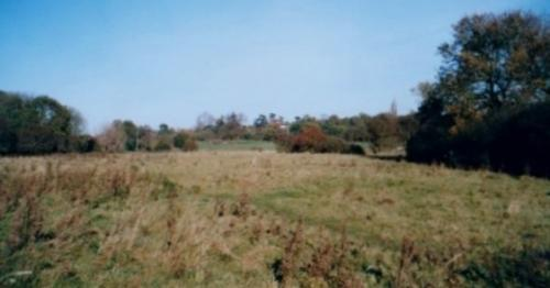 12.1999 Blyth meadow from Six Arches towards Folly