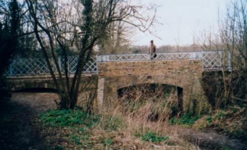 15. 1999 Southwold Railway bridge showing second arch and new handrails