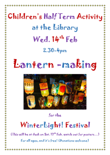2018 February WinterLight Workshop poster