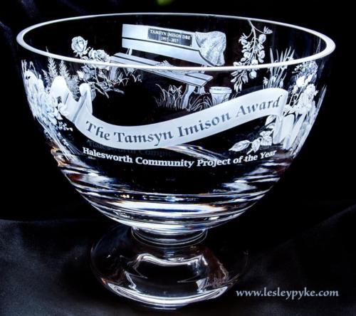 2019 Tamsyn Imison Award rose bowl