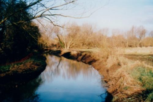 25. 2001 January New Reach and Folly meadow Environment Agency river channel clearance