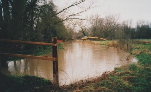 26. 2001 February New Reach and Folly meadow flooded