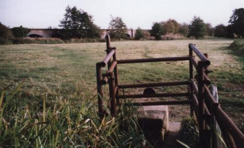 48. 2003 Two Acres metal stile on Footpath 3, Swan Lane, to Mells