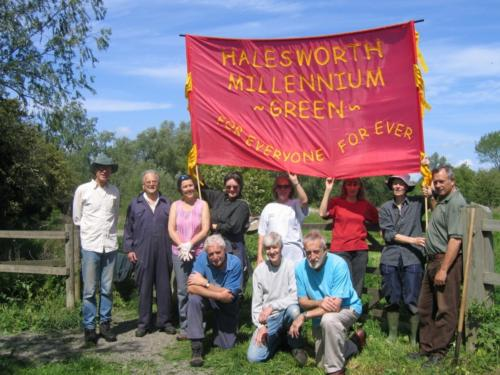 64. 2007 Millennium Green's banner